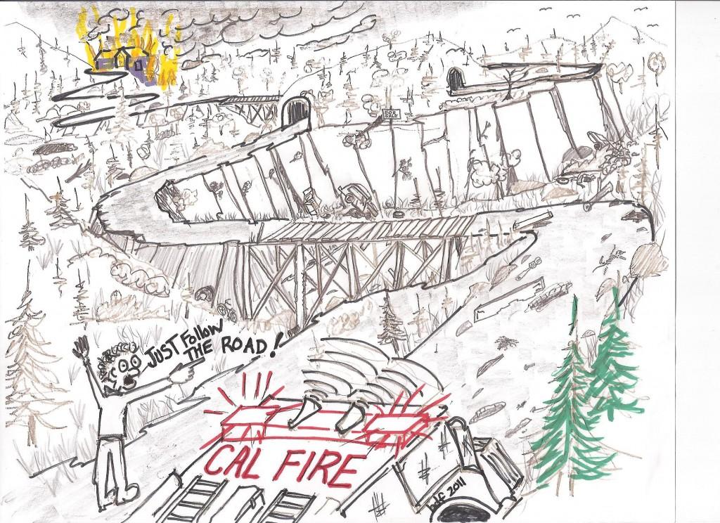 1991 SRA Fire Safe Minimum Roadway Standards do what?