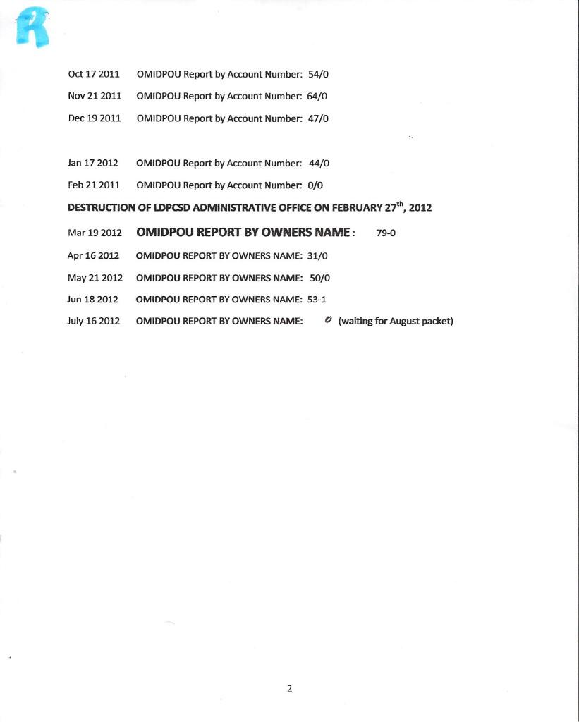 ROSS OMIDPOU REPORTS p2