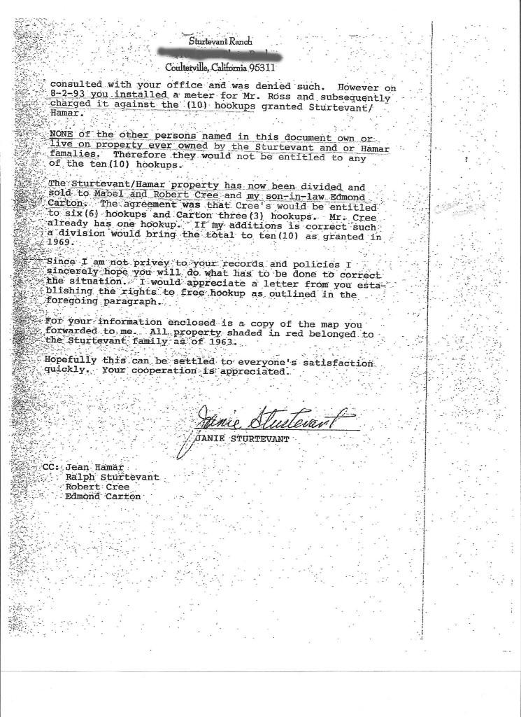 Sturtevant Letter p2o