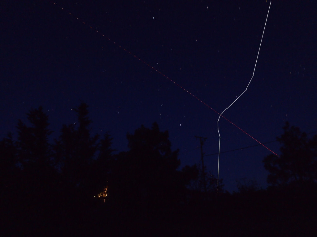 April Fool's Photograph of an ISS Orbital Flight Correction by Paul Bendhiem, Phd at NASA Public Data Reporting Unit