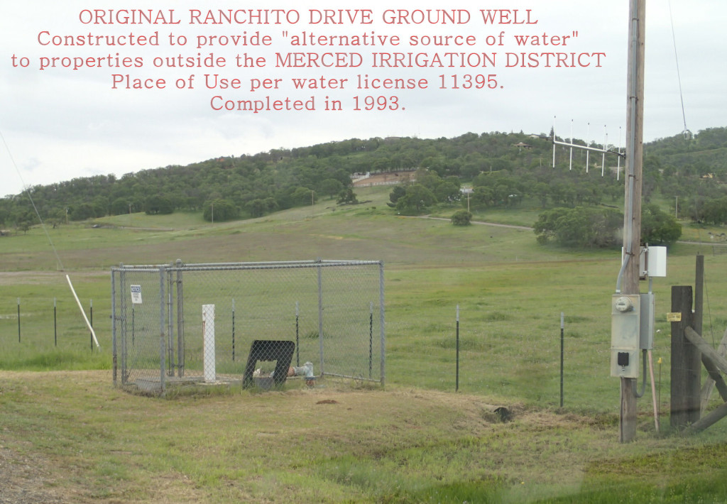 ORIGINAL RANCHITO DRIVE GROUND WELL
