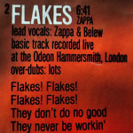 Flakes lyrics