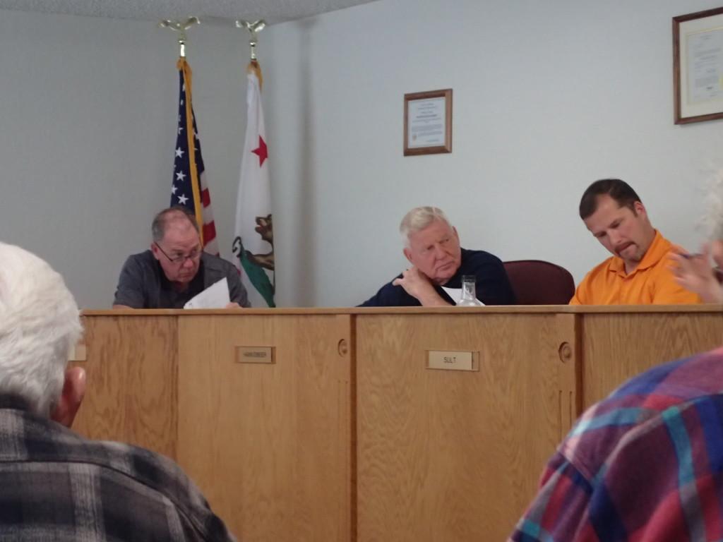 (L-R) President Danny Johnson, Vice President Dan Hankemeier, and Director James Sult