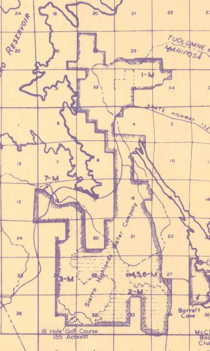 SIERRA HIGHLANDS & LDP Subdivision