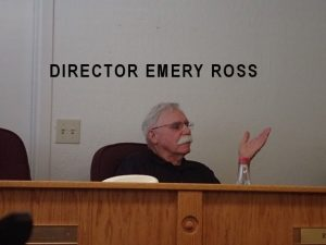 Director Emery Ross May 16, 2016