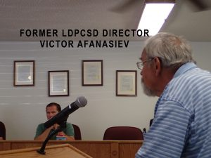 Former Director Victor Afanasiev May 16 2016