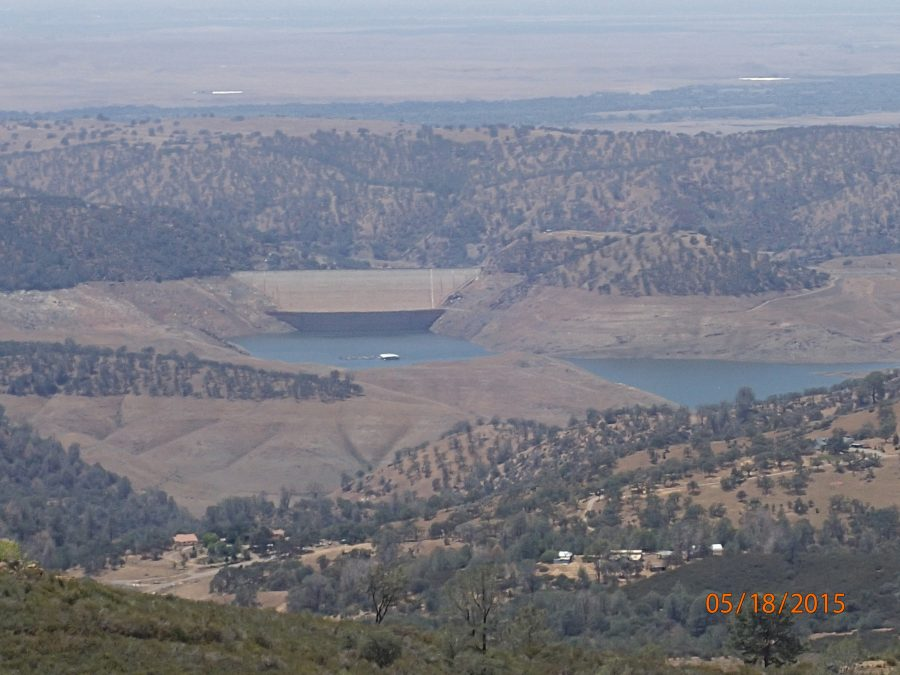 Drought at Lake Don Pedro